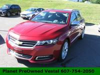 Meet our incredible redesigned 2014 Chevy Impala 2LTZ,