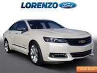 Options:  2014 Chevrolet Impala Ltz|White Diamond