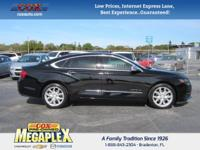 This 2014 Chevrolet Impala LTZ in Black is well