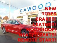 Options:  2014 Chevrolet Impala Ltz Red New Tires New