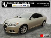 This one owner, 2014 Chevy Malibu comes equipped with