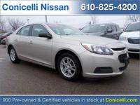 PREMIUM & KEY FEATURES ON THIS 2014 Chevrolet Malibu