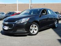 2014 Chevrolet Malibu Black LS 1LS FWD 6-Speed