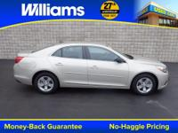 Options:  2014 Chevrolet Malibu Ls|Silver|Clean Vehicle