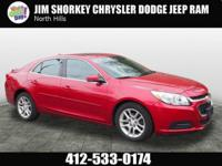 2014 Chevrolet Malibu LT New Price! CARFAX One-Owner.