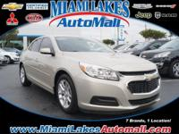 *** MIAMI LAKES CHEVROLET *** Loads of legroom and