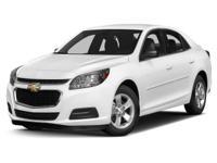 Options:  2014 Chevrolet Malibu Lt W/1Lt|Chevrolet