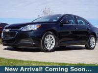 2014 Chevrolet Malibu LT in Black Granite Metallic,