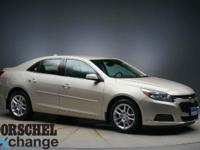 Tan 2014 Chevrolet Malibu LTCloth.36/25 Highway/City