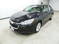 Options:  2014 Chevrolet Malibu Lt Black Gm Certified.