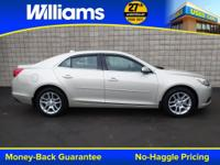 Options:  2014 Chevrolet Malibu Lt|Silver|Touch Screen