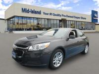 This 2014 Chevrolet Malibu LT is Well Equipped with