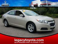 Clean CARFAX. New Price! BLUETOOTH, Malibu LT 1LT, 4D