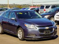New Price! CARFAX One-Owner. Blue 2014 Chevrolet Malibu
