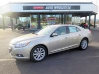 Land a bargain on this 2014 Chevrolet Malibu LT before
