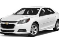 Options:  2014 Chevrolet Malibu Lt W/2Lt|Miles: