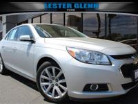 This outstanding example of a 2014 Chevrolet Malibu LT