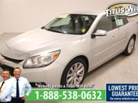 2014 Chevrolet Malibu Silver, Completely inspected and