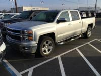 CARFAX One-Owner. Clean CARFAX. Silver 2014 Chevrolet