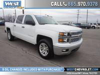 This Silverado is a Chevrolet Certified Pre-owned model