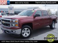 2014 Chevrolet Silverado 1500 LT Deep Ruby Metallic New