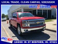 **LOCAL TRADE, **CLEAN CARFAX, **SYNC / BLUETOOTH,