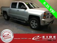 This 2014 Chevrolet Silverado 1500 Crew Cab LTZ is