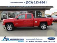 ONE OWNER 2014 CHEVROLET SILVERADO LT CREW CAB TEXAS