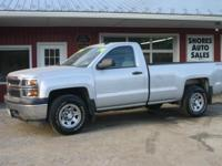 Look at this 2014 Chevrolet Silverado 1500 Work Truck.