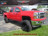 Exterior Color: victory red, Body: Crew Cab, Engine: