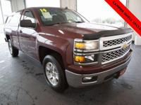 Options:  2014 Chevrolet Silverado 1500 Lt|Red|Clean