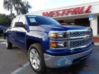 THIS IS A VERY NICE 2014 CHEVY SILVERADO 1500 CREW CAB