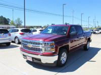 Options:  2014 Chevrolet Silverado 1500 Lt|Deep Ruby