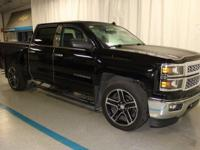 2014 Chevrolet Silverado 1500 LT in Black... 6-Speed