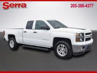 2014 Chevrolet Silverado 1500 LT RWD,Summit White,