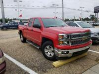 Certified. Victory Red 2014 Chevrolet Silverado 1500 LT