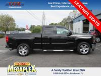 This 2014 Chevrolet Silverado 1500 LT in Black is well