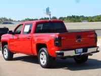 This 2014 Chevrolet Silverado 1500 LT in Red features: