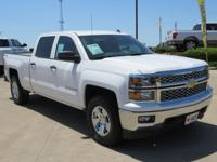 CARFAX One-Owner. Summit White 2014 Chevrolet Silverado