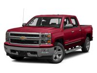 This 2014 Chevrolet Silverado 1500 4dr LT features a