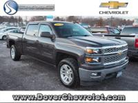 One owner trade. Bought and serviced at Dover Chevy.