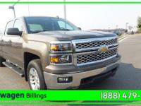 Brown 2014 Chevrolet Silverado 1500 LT 4WD 6-Speed