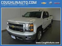 Sharp! This Chevy 1500 is ready to work! Built to last,