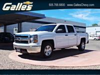 This Chevrolet Silverado 1500 has a powerful