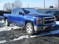 Options:  2014 Chevrolet Silverado 1500 Lt|BlueBlack|4