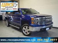 New Price! 2014 Blue Topaz Metallic Chevrolet Silverado