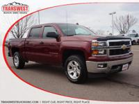 Options:  2014 Chevrolet Silverado 1500 2Lt|Red|Jet
