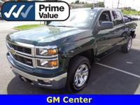 This is a one owner 4 door crew cab pick up with a
