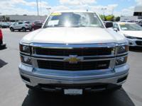 Options:  2014 Chevrolet Silverado 1500 Lt|Silver|Gm