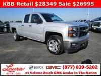 1-Owner New Vehicle Trade! LT 5.3 V8 Extended Cab 4x4.
